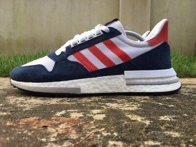 Adidas Zx 500 Rm Size 9 Uk Mens Trainers F36912 New Boxed 100% Authentic 9b1f2b063