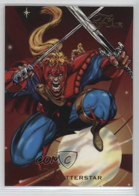Collectibles Non-Sport Trading Cards 1994 Flair Marvel Annual Trading Card #51 Iceman
