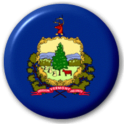 Vermont Us State – 25 Mm Pin Button Badge