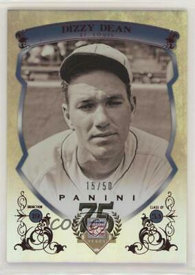 2014 Panini Hall of Fame Blue Shield Red #25 Dizzy Dean St. Louis Cardinals Card