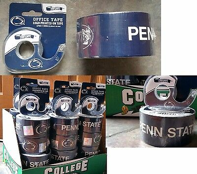 Penn State Nittany Lions Logo-Duct Tape & Office Fan tape Football 2 Roll Lot