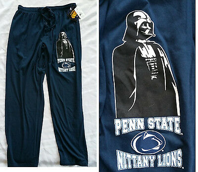 Penn State Nittany Lions College Darth Vader Star Wars Lounge sweat pants S-XL