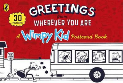 Greetings from Wherever You Are: A Wimpy Kid Postcard Book, Kinney, Jeff, Used;