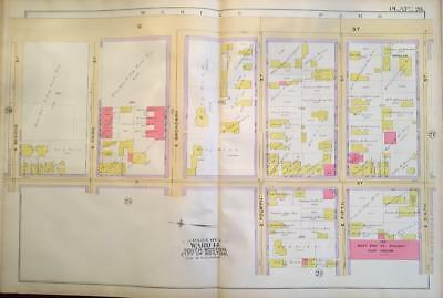 1891 South Boston Ma Marine Park St. Patrick's Day Parade City Point Atlas Map