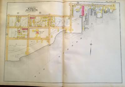 1891 South Boston L St To Farragut Rd & E6Th St To Old Harbor Atlas Map