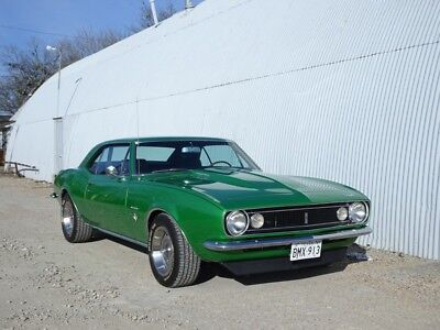 1967 Chevrolet Camaro  1967 CAMARO    327, TREMIC 5 SPEED. VINTAGE A/C. PS,PB.  TEXAS.  SYNERGY GREEN