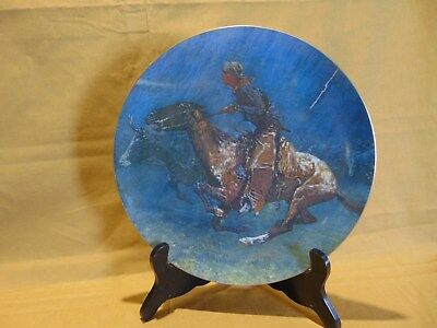 Frederic Remington- Stampede By Lighting -1320/2500-Franciscan Masterpiece China