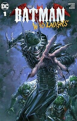 Batman Who Laughs #1 CLAYTON CRAIN  Variant NM 12/12/18 RARE LOW PRINT RUN