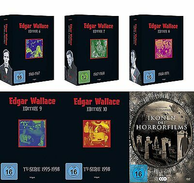 edgar wallace gesamtedition 33 dvd box eur 132 66. Black Bedroom Furniture Sets. Home Design Ideas