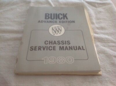 Buick Advance Edition Chassis Service Manual 1980