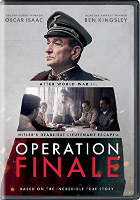 Operation Finale-Operation Finale Dvd New