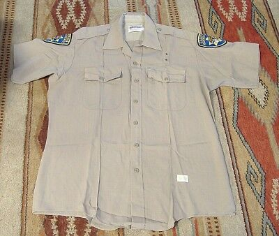 fefc256725138e RETIRED CHP CALIFORNIA HIGHWAY PATROL UNIFORM SHIRT COMPLETE w/ PATCHES XL