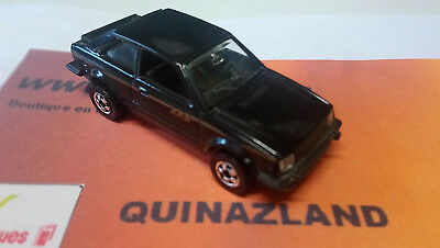 Hot Wheels Ford Escort XR3 Made in France décoration gold (B6)