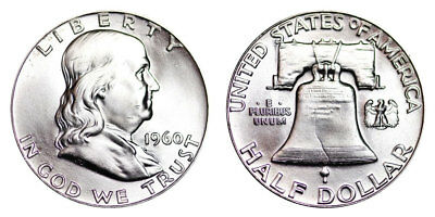 1960-P Franklin Half Dollar Brilliant Uncirculated - BU