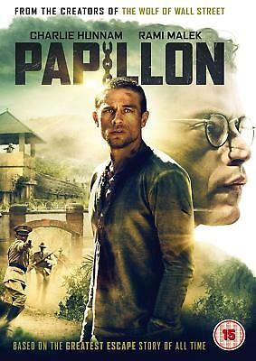 Papillon New DVD / Still Sealed / Free Delivery