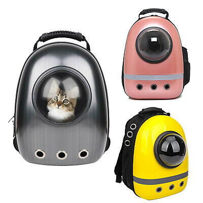 Portable Pet Cat Dog Space Capsule Carrier Backpack Traveler Bag 3 Colors Choice