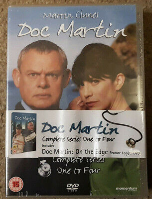 DVD Boxset Doc Martin Series 1-4 and On the Edge Special New Sealed