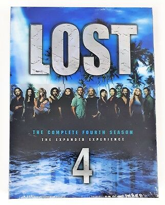 Lost: The Complete Fourth Season (DVD, 2008, 6-Disc Set) The Expanded Experience