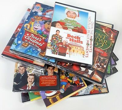 DVDs - Pick Your Own: Christmas Movies Variety - Family ~ Children - New
