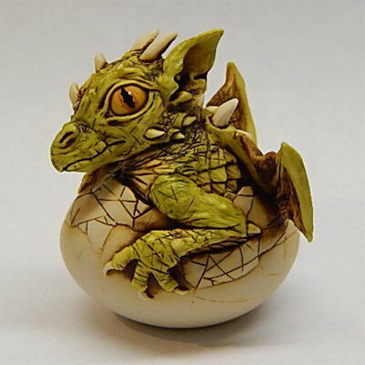 Harmony Kingdom Art Neil Eyre Designs Easter baby dungeon dragon hatching egg