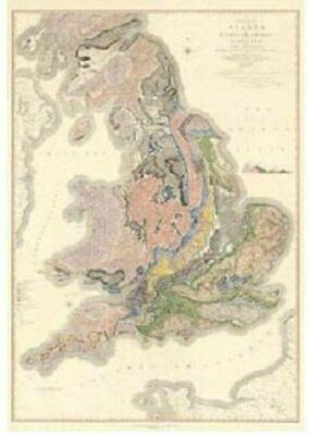William Smith 1815 Geological Map of England and Wales with Par... 9780751834178