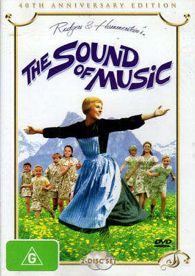 The Sound Of Music - 40th Anniversary Edition - Julie Andrews - 2 DVD New Sealed