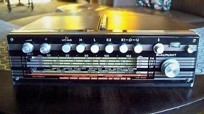 TOP West German Blaupunkt top design 6 bands radio FM till 104 great SW 2X