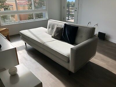 Design Within Reach Bantam Studio Sofa Maharam Divina Melange