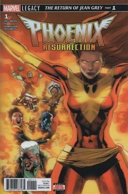 Phoenix Resurrection: Return Jean Grey (2017 Ltd) # 1 Near Mint (NM) (CvrA) CO