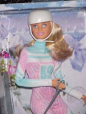Made To Move Skier Barbie New In Box Nrfb