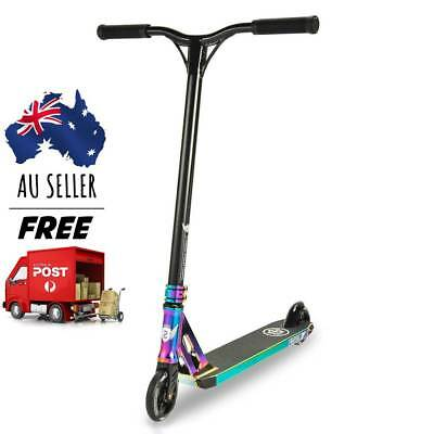 Longway Sector Complete Scooter | Neo Chrome Black | AU Stock - Free Delivery