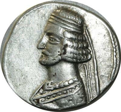 >mo Superbe L9276 Very Rare Quality Kings Of Parthia Tetradrachm Au !