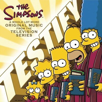 Simpsons,the-Simpsons Testify,the Cd New