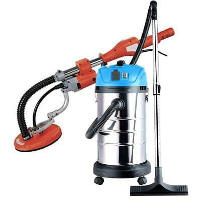 Commercial Electric Drywall Sander Wet Dry Vacuum Cleaner Power Tool Combo Kit