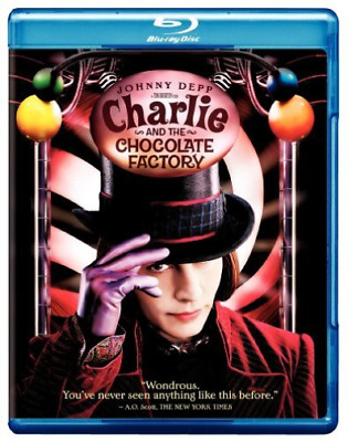 DEPP,JOHNNY-Charlie And The Chocolate Factory Blu-Ray NEW