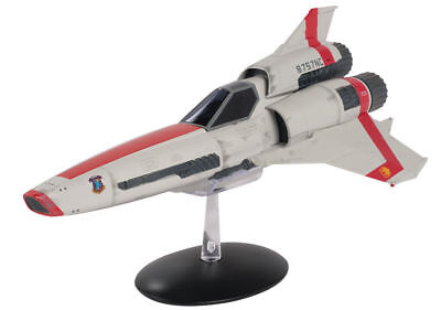 Battlestar Galactica Viper Mark 2 Die Cast Spaceship w Free Patch- Eaglemoss