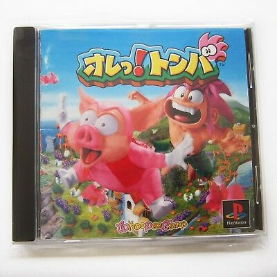 Tomba! / Playstation 1 (PS1 NTSC-J Japan JP Tombi!, Hülle Cover Anleitung OVP)