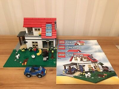 LEGO Baukästen & Sets Lego Creator 5771 Creator Hillside House 3 in 1 Set Boxed w Instructions Vintage