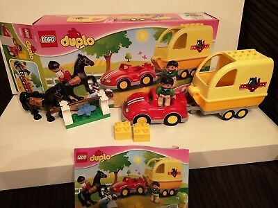 "Lego  Duplo duplo  City /""Horse and trailer/"" 10807"