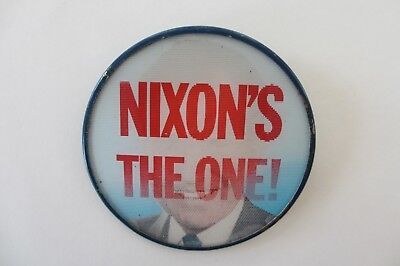 Richard Nixon 1968 Color Picture Flasher-Nixon's The One!