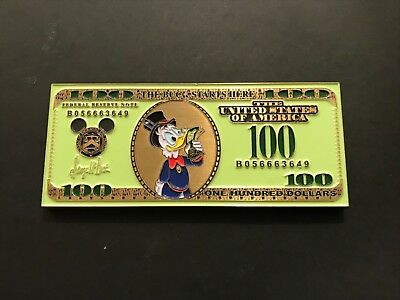 Disney Donald Duck The Buck Stops Here Challenge Coin