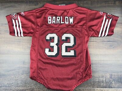 San Francisco 49ers Kevan Barlow 32 One Piece Jersey Baby Toddler 18 Months  Boys 4fb672f9d