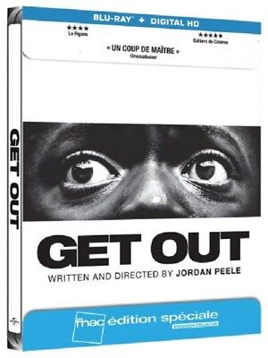 GET OUT STEELBOOK Blu Ray + DIGITAL Edition FNAC NEUF SOUS BLISTER