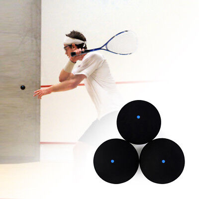 KQ_ Professional One Blue Dot Rubber Squash Ball Training Competition Accessorie