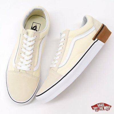 9940733b06 VANS OLD SKOOL Classic White GUM BLOCK SKATE Shoes Size Men s 6.5 ...