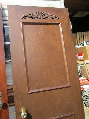 Antique Wood Door From Royal Suite Of Sutton Hotel, Toronto