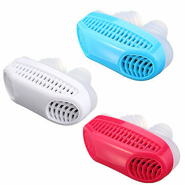Soft Silicone Anti Snore Device Nasal Dilators Stop Snoring Nose Air Purifier