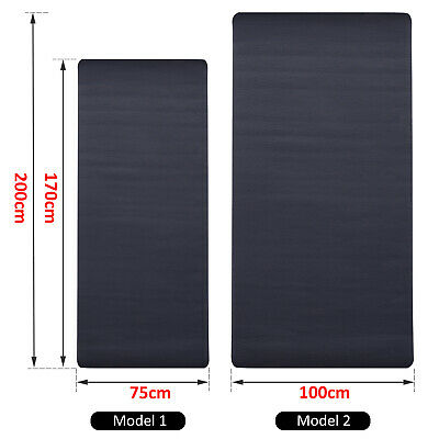 Gym Equipment Exercise Mat Fitness Tranining Non-Slip Bike Protect Floor
