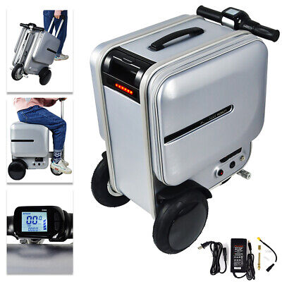 Airwheel 29.3L PC Suitcase Scooter Electric Travel Carry Luggage Business 10km/h