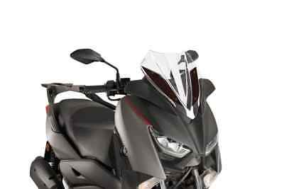 FACO 23336 WINDSCREEN CLEAR WITH BRACKETS YAMAHA YPRA X MAX ABS 125 2014 2017